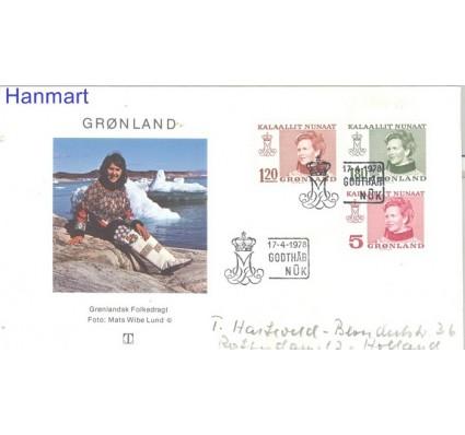 Znaczek Grenlandia 1978 FDC