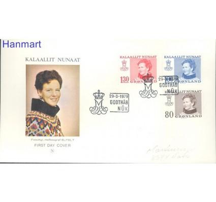 Znaczek Grenlandia 1979 FDC