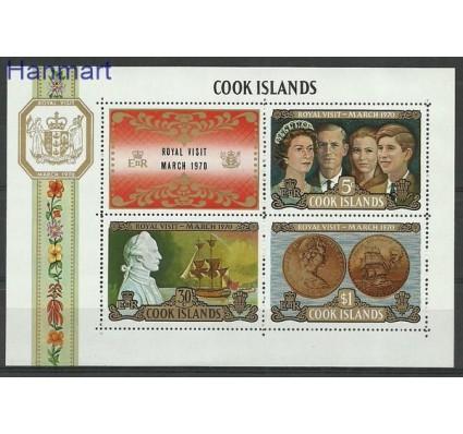 Znaczek Wyspy Cooka 1970 Mi bl 7 Czyste **