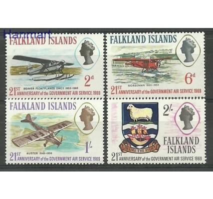Znaczek Falklandy 1969 Mi 175-178 Czyste **