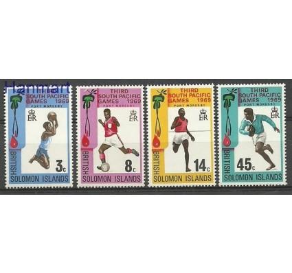Znaczek Wyspy Salomona 1969 Mi 185-188 Czyste **