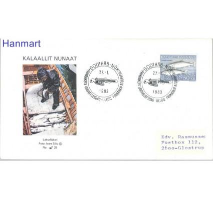Znaczek Grenlandia 1983 Mi 140 FDC