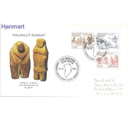 Znaczek Grenlandia 1983 FDC