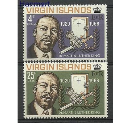 Znaczek Wyspy Dziewicze 1968 Mi 188-189 Czyste **