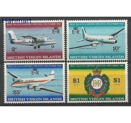 Znaczek Wyspy Dziewicze 1968 Mi 190-193 Czyste **