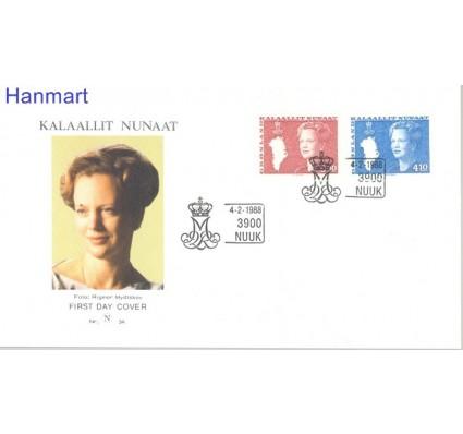 Grenlandia 1988 Mi 179-180 FDC