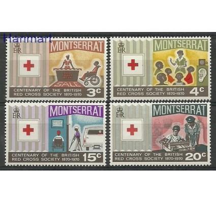 Znaczek Montserrat 1970 Mi 226-229 Czyste **