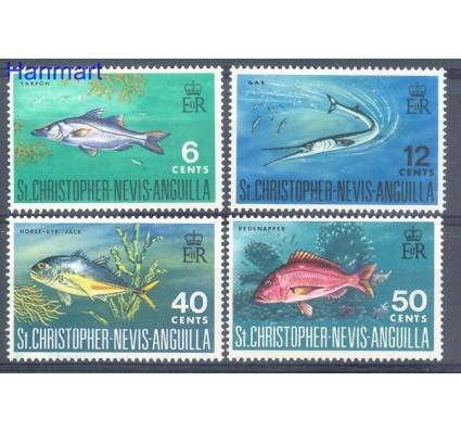 Znaczek St. Christopher Nevis Anguilla 1969 Mi 188-191 Czyste **