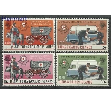 Znaczek Turks i Caicos 1970 Mi 251-254 Czyste **