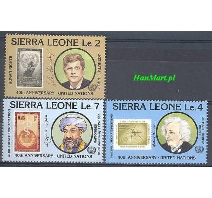 Znaczek Sierra Leone 1985 Mi 866-868 Czyste **