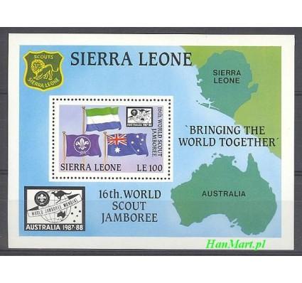 Znaczek Sierra Leone 1987 Mi bl 70 Czyste **