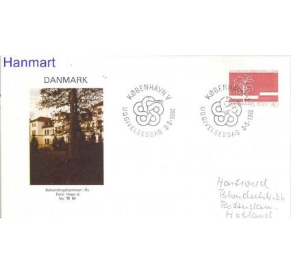 Znaczek Dania 1982 FDC