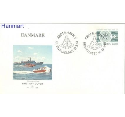 Znaczek Dania 1984 FDC