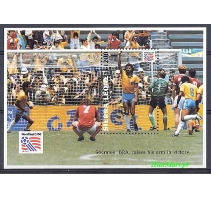 Znaczek Sierra Leone 1993 Mi bl 240 Czyste **