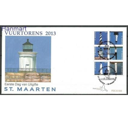 Znaczek Saint Maarten 2013 Mi 207-212 FDC