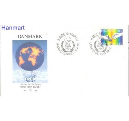 Znaczek Dania 1986 Mi 866 FDC
