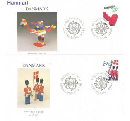 Dania 1989 Mi 950-951 FDC