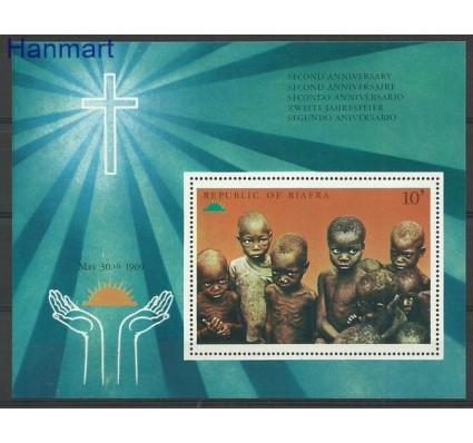 Znaczek Biafra 1969 Mi bl 1 Czyste **