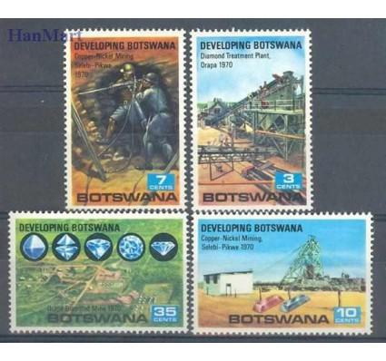 Znaczek Botswana 1970 Mi 58-61 Czyste **