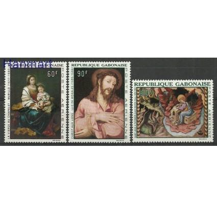 Znaczek Gabon 1968 Mi 301-303 Czyste **
