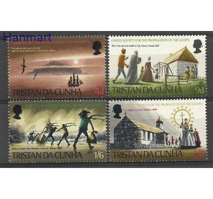 Znaczek Tristan da Cunha 1969 Mi 128-131 Czyste **
