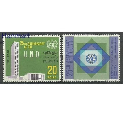 Znaczek Pakistan 1970 Mi 289-290 Czyste **