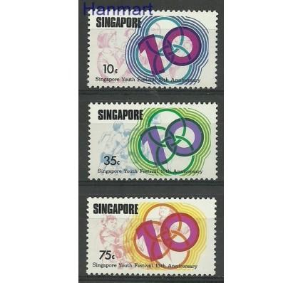 Znaczek Singapur 1976 Mi 254-256 Czyste **