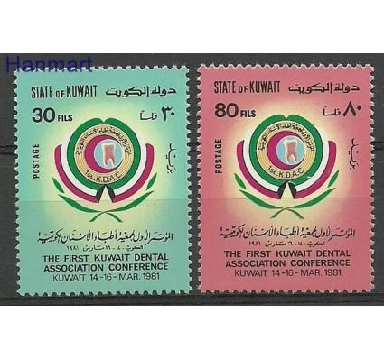 Znaczek Kuwejt 1981 Mi 887-888 Czyste **