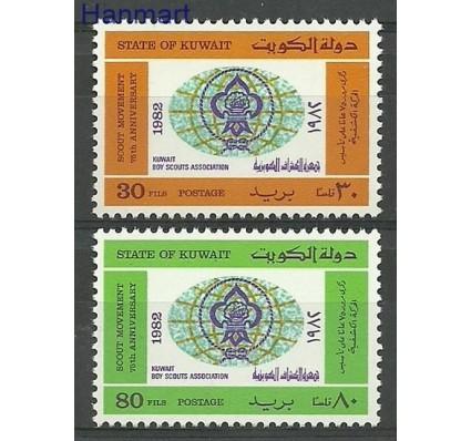 Znaczek Kuwejt 1982 Mi 924-925 Czyste **