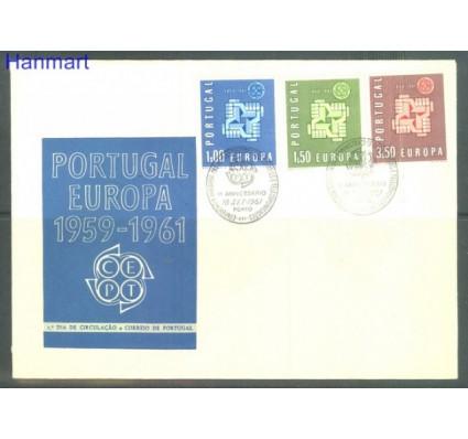 Znaczek Portugalia 1961 Mi 907-909 FDC