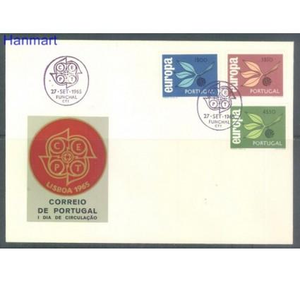 Znaczek Portugalia 1965 Mi 990-992 FDC