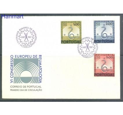 Znaczek Portugalia 1967 Mi 1040-1042 FDC