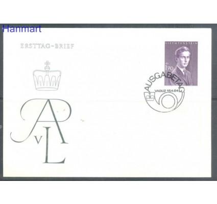 Znaczek Liechtenstein 1964 Mi 439 FDC