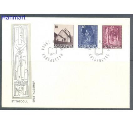 Znaczek Liechtenstein 1964 Mi 445-447 FDC