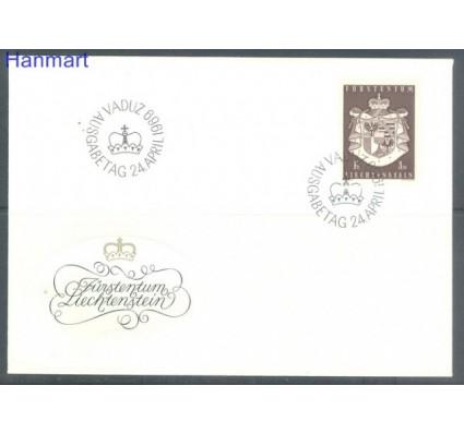 Znaczek Liechtenstein 1969 Mi 506 FDC