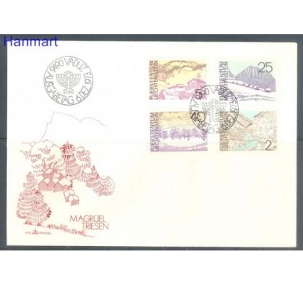 Znaczek Liechtenstein 1973 Mi 596-599 FDC