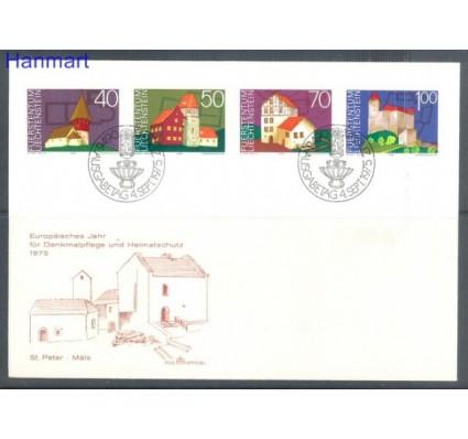Znaczek Liechtenstein 1975 Mi 630-633 FDC