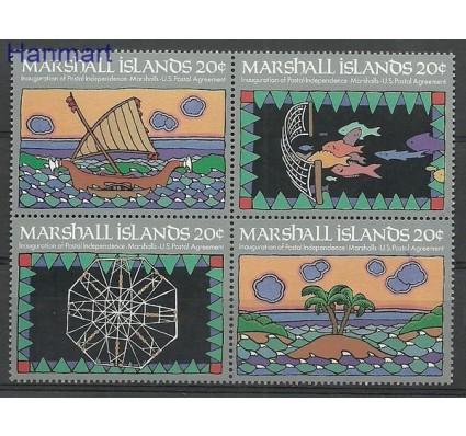 Znaczek Wyspy Marshalla 1984 Mi 1-4 Czyste **