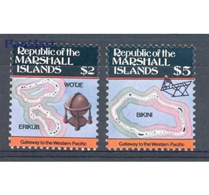 Znaczek Wyspy Marshalla 1986 Mi 71-72 Czyste **