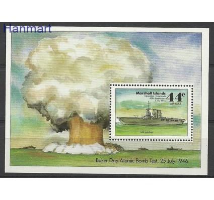 Znaczek Wyspy Marshalla 1986 Mi bl 2 Czyste **