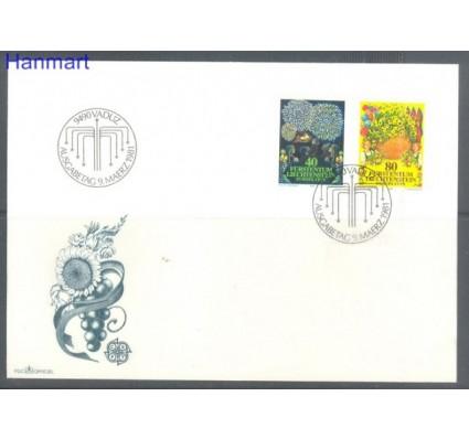 Znaczek Liechtenstein 1981 Mi 764-765 FDC