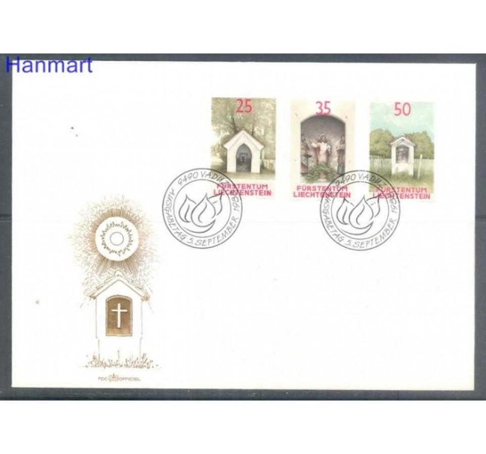 Liechtenstein 1988 Mi 951-953 FDC