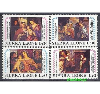 Znaczek Sierra Leone 1987 Mi 1066-1069 Czyste **