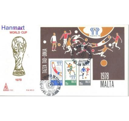 Znaczek Malta 1978 Mi bl 5 FDC