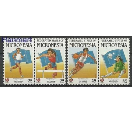 Znaczek Mikronezja 1988 Mi 93-96 Czyste **