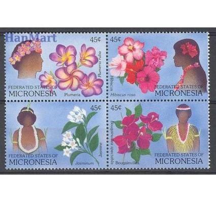 Znaczek Mikronezja 1989 Mi 123-126 Czyste **