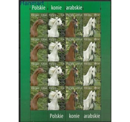 Znaczek Polska 2007 Mi ark 4323-4226 Fi ark 4173-4176 Czyste **