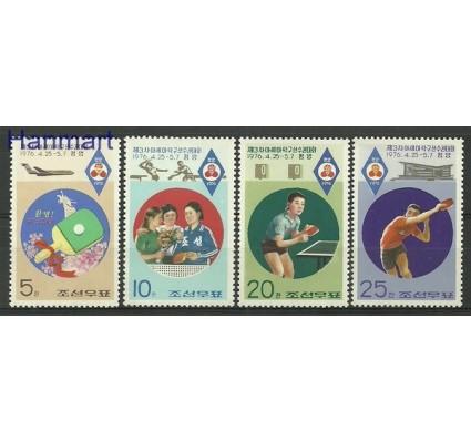 Znaczek Korea Północna 1976 Mi 1484-1487 Czyste **