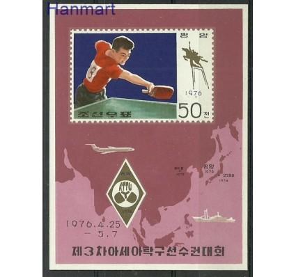 Znaczek Korea Północna 1976 Mi bl 23 Czyste **