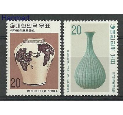 Znaczek Korea Południowa 1977 Mi 1074-1075 Czyste **